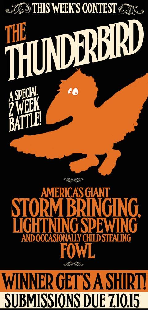 this week it's - The Thunderbird