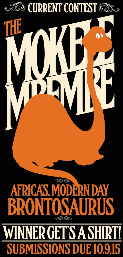 this week it's - The Mokele Mbembe