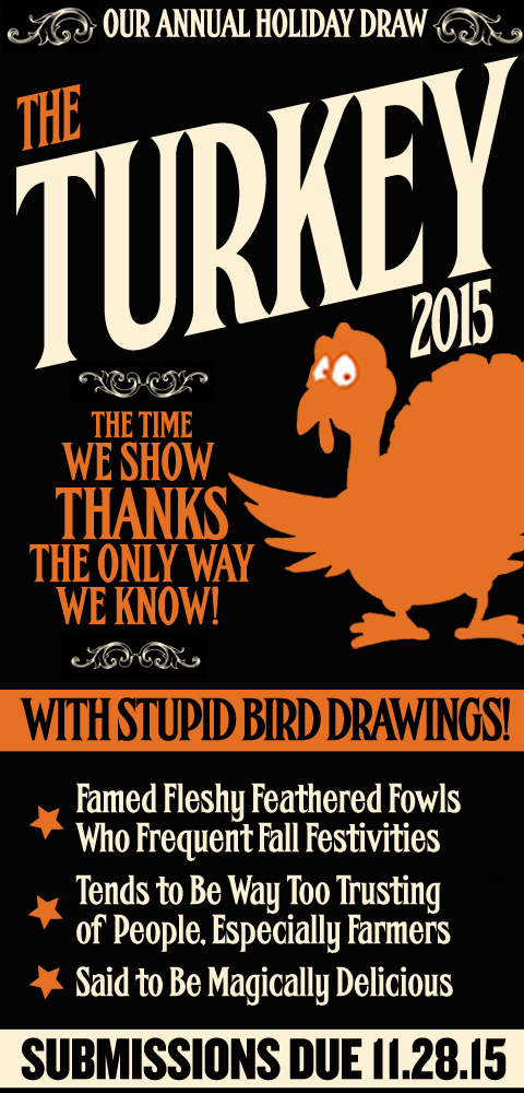 this week it's - The Turkey 2015