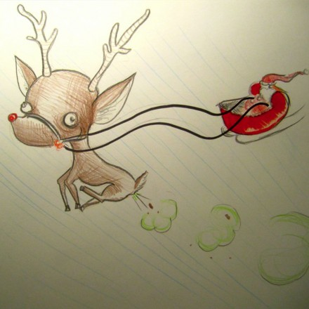 The Flying Reindeer Entry # 14