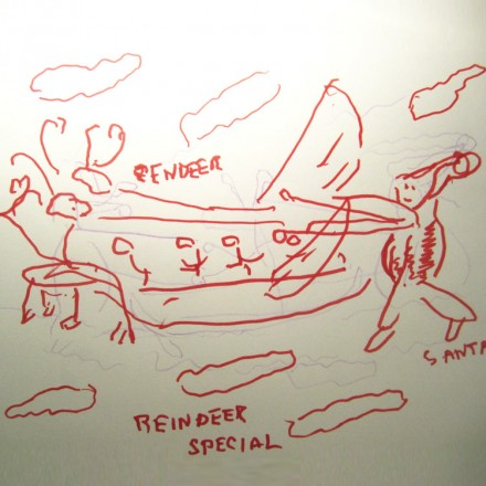 The Flying Reindeer Entry # 17