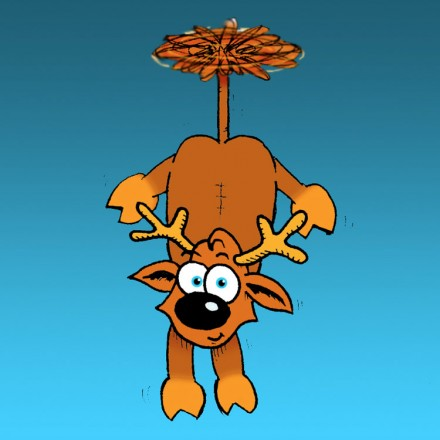 The Flying Reindeer Entry # 4