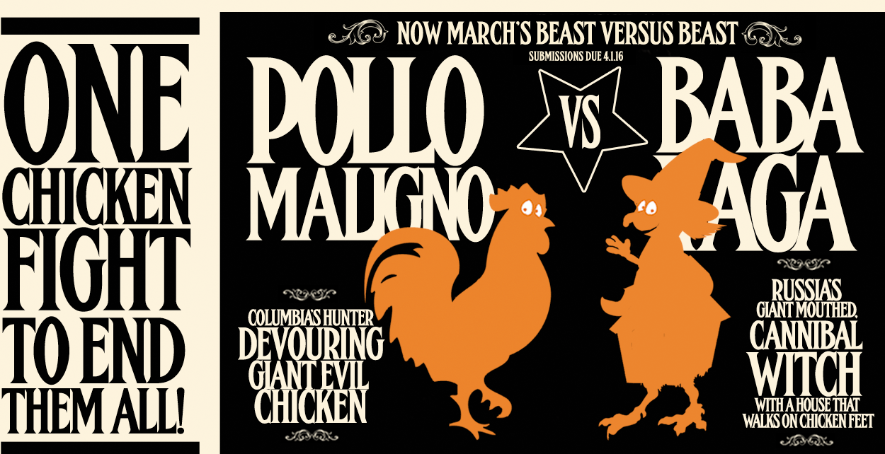 Baba Yaga Vs Pollo Maligno March Header