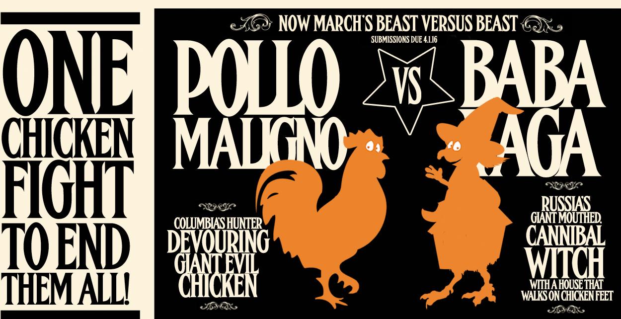 Baba Yaga Vs Pollo Maligno March Header