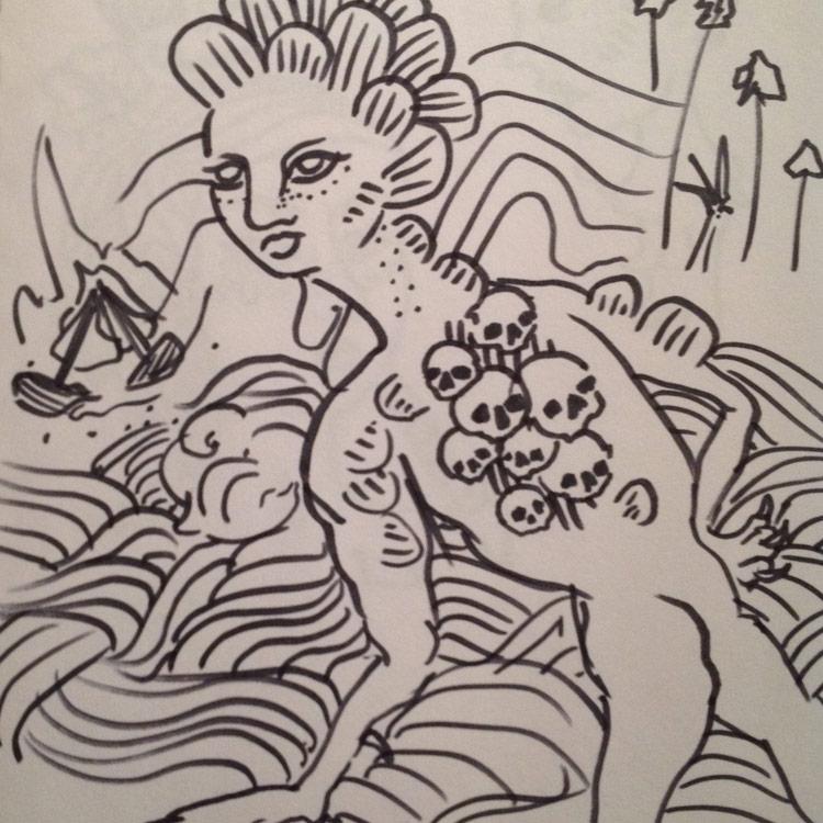 The Gougou Drawing # 11