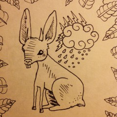 The Jackalope Drawing # 22