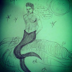 The Merman Drawing # 21