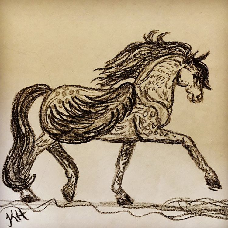 The Pegasus Drawing # 8