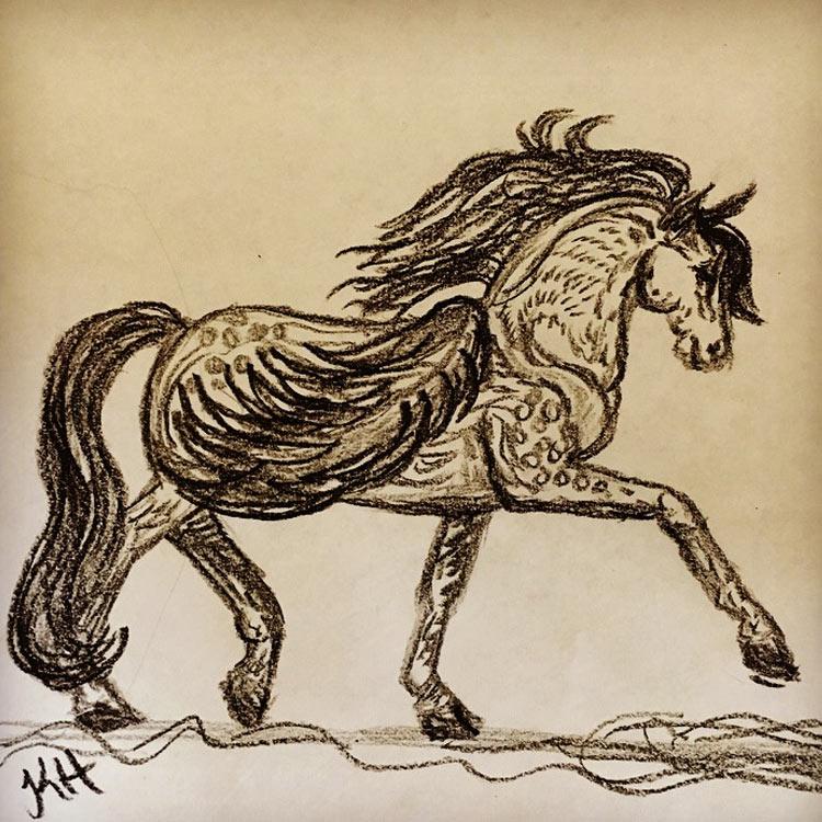 The Pegasus Drawing # 8