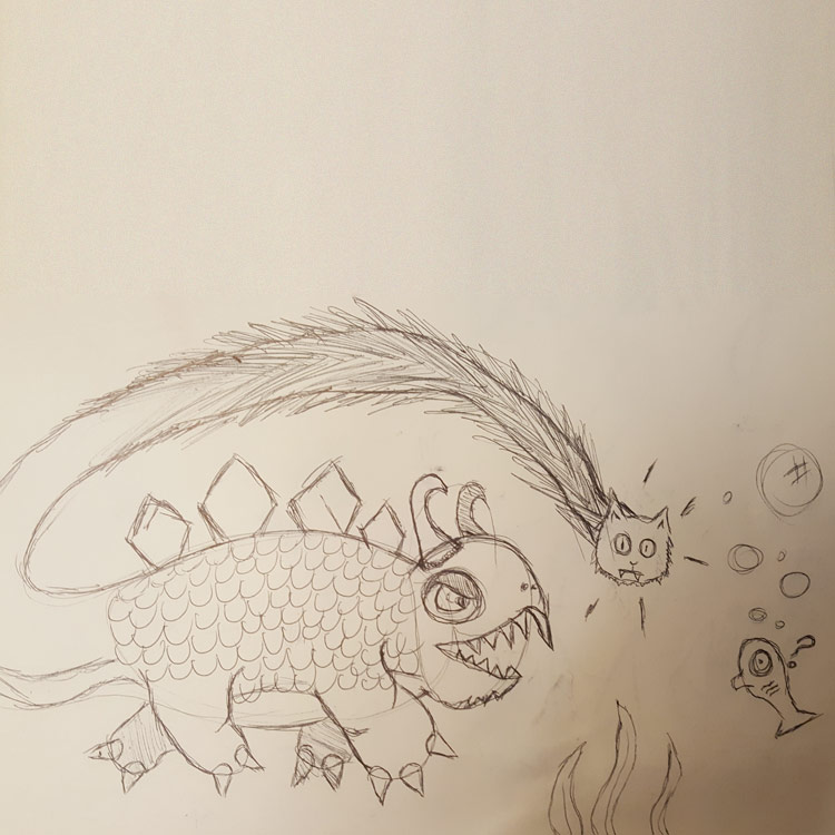 The Underwater Panther Entry # 6
