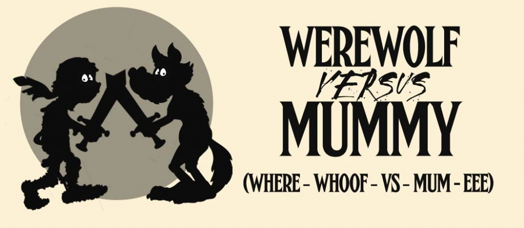 Werewolf Vs Mummy