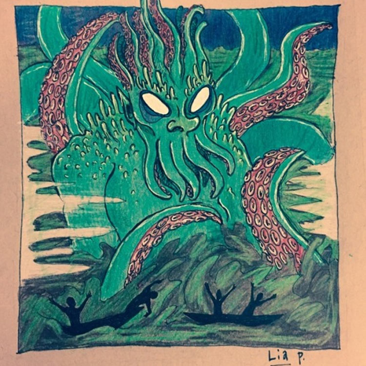 The Devil's Lake Monster Entry # 3