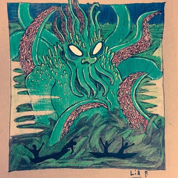 The Devil's Lake Monster Entry # 3