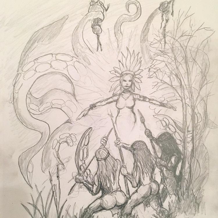 The Devils Lake Monster Entry # 4
