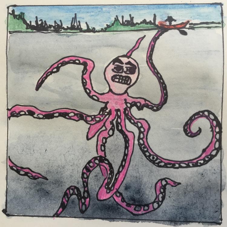 The Devils Lake Monster Entry # 7