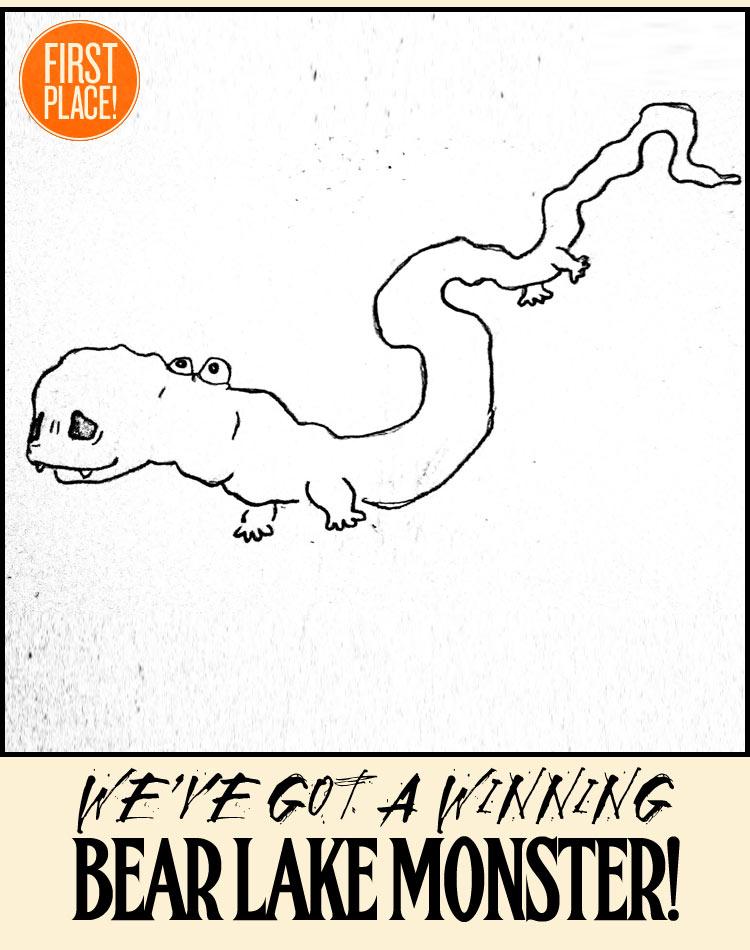 Our Winning  Bear Lake Monster