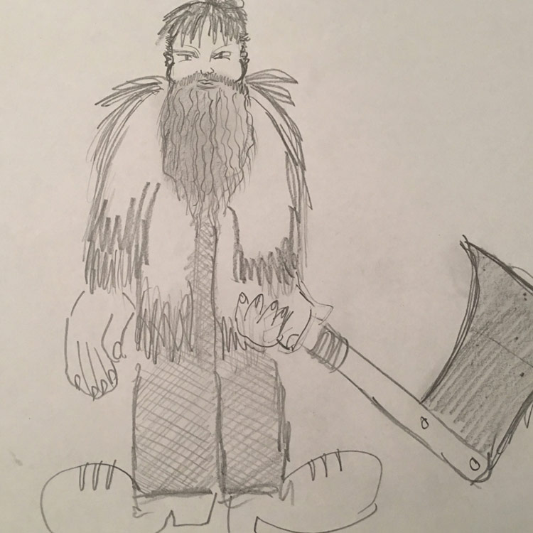 Paul Bunyan Entry # 1