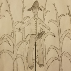Priapus as a Scarecrow! Entry # 2