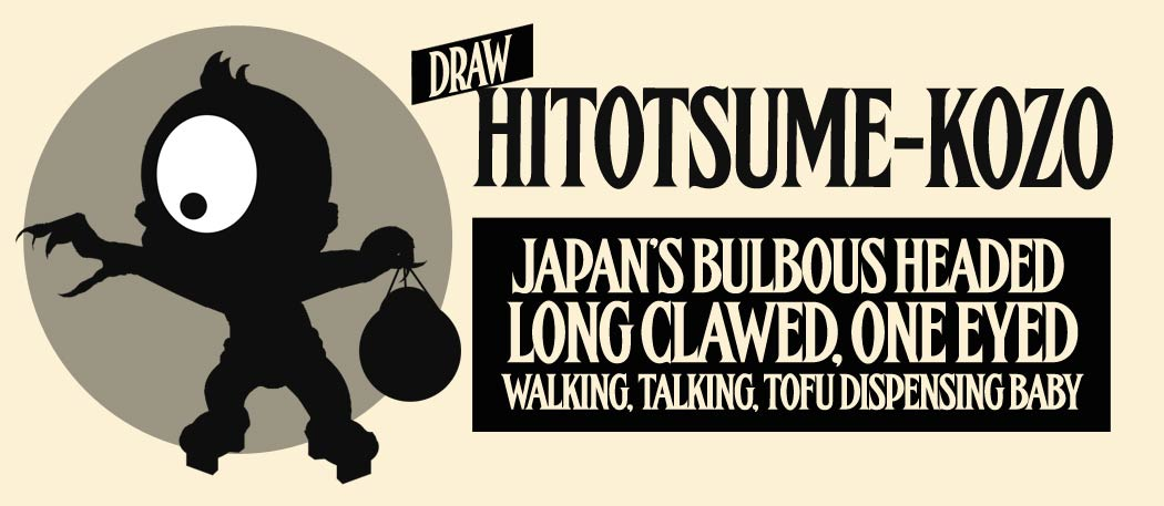 Draw Hitotsume-Kozo