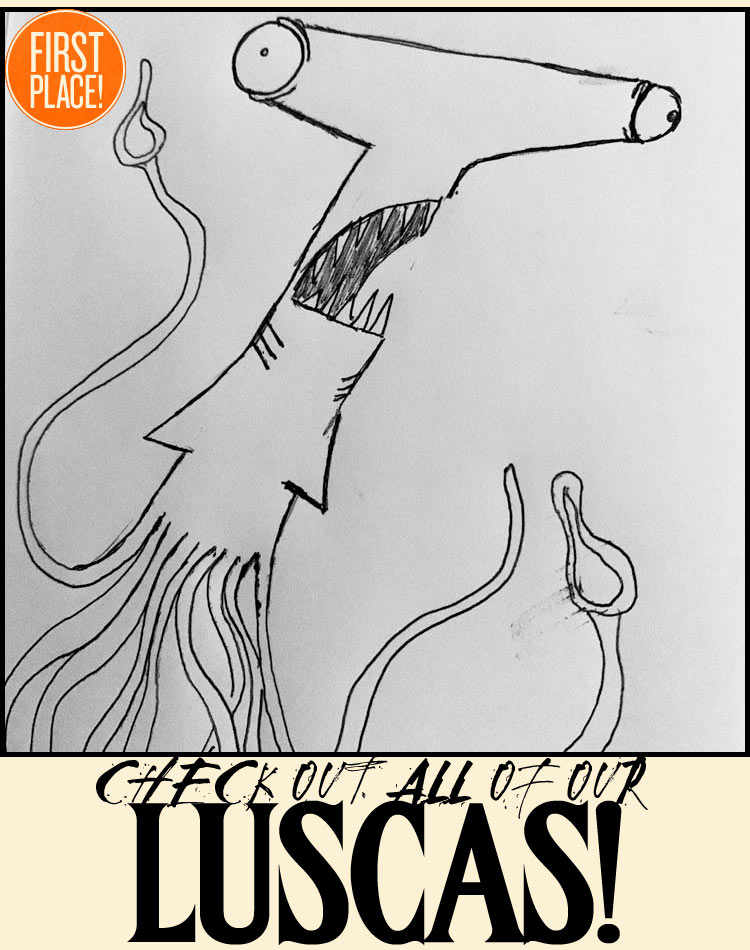 Our Winning Lusca Drawing