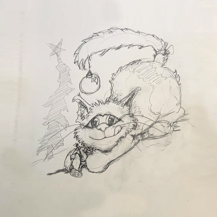 The Yule Cat Entry # 2