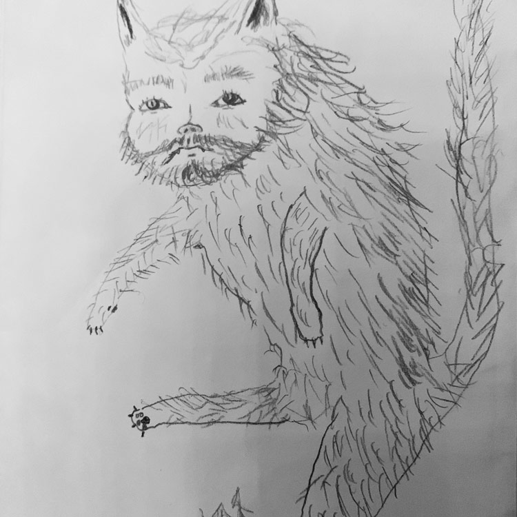 The Yule Cat Entry # 4