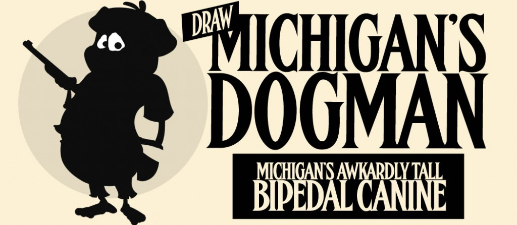 Draw Michigan's Dogman